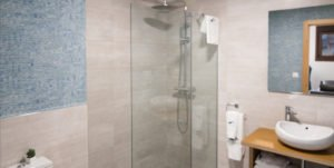 Shower in Apartment for Rent