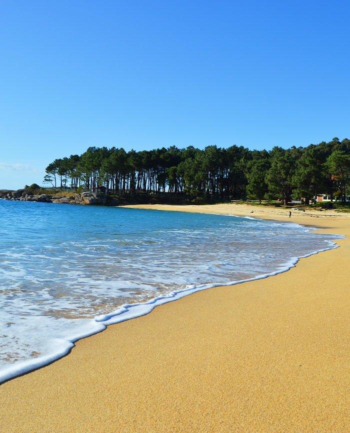 Playas en las Rías Baixas