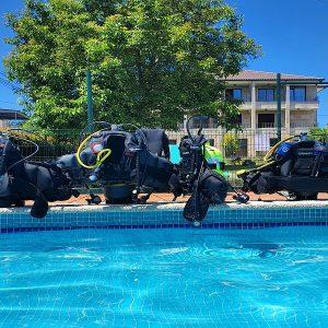 Apartamentos Ría de Aldan buceo piscina