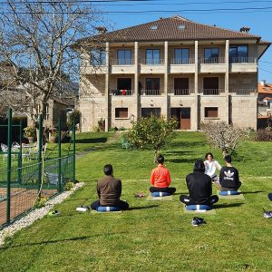 Apartamentos Ría de Aldán yoga