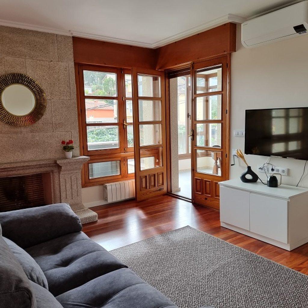 Apartamento Aldan Chimenea