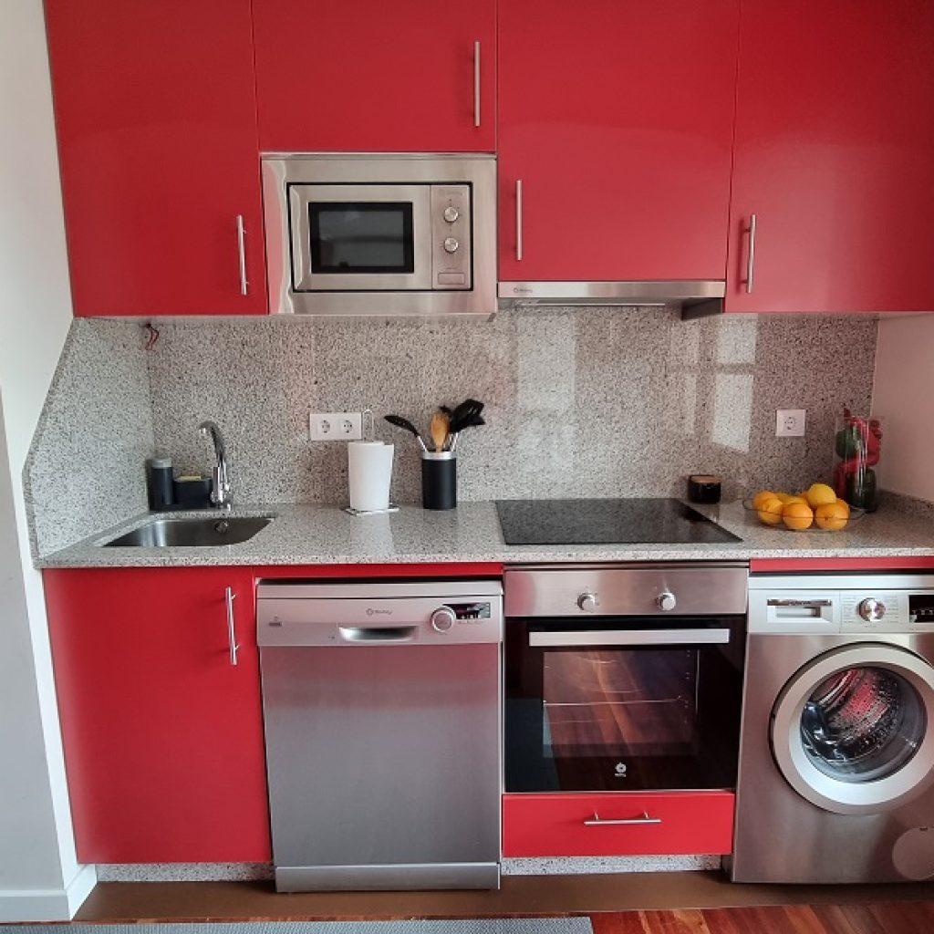 Apartamento Aldán Cocina