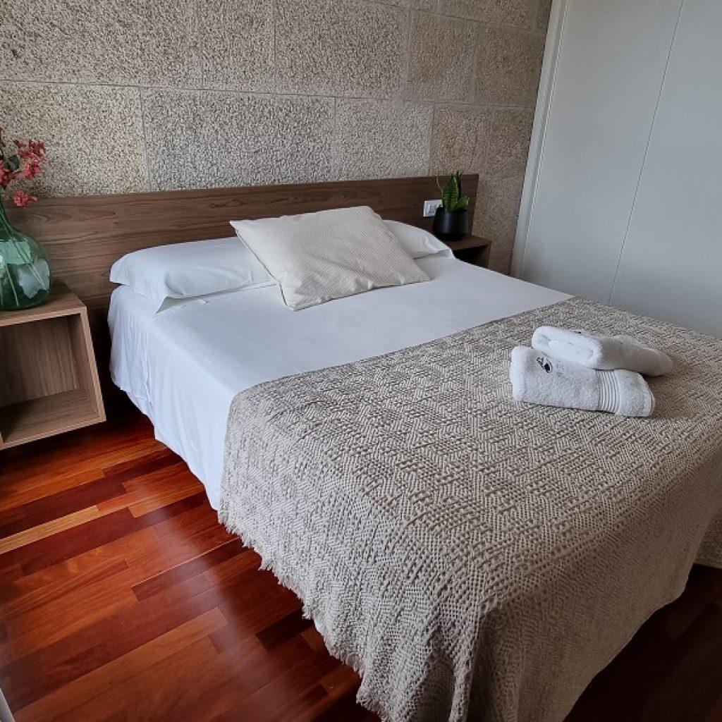 Apartamento Aldán Dormitorio Ppal