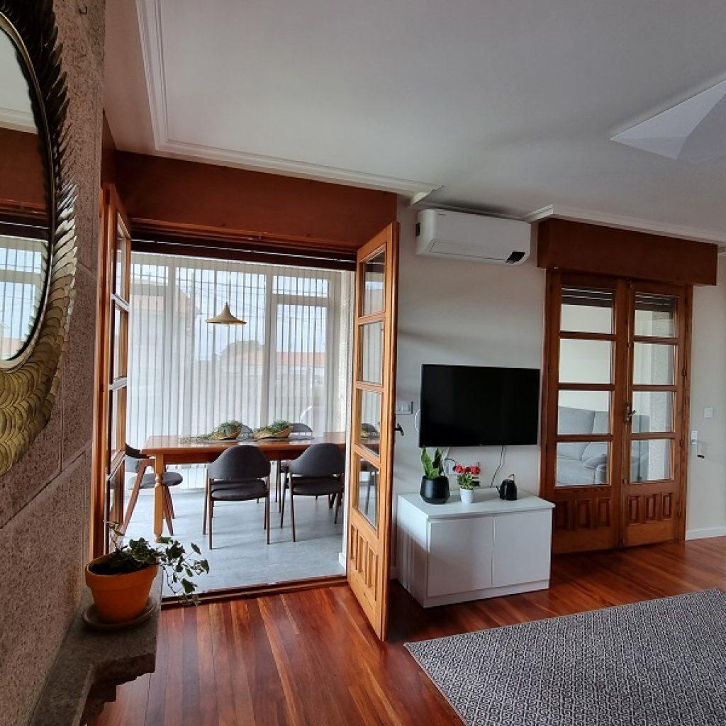Apartamento Aldán Salon Comedor