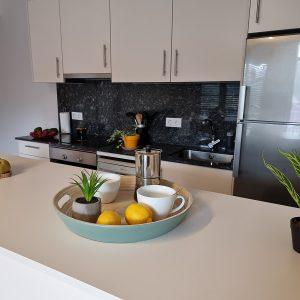 Apartamento Areacova Mesa Cocina