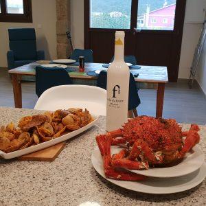 Gastronomía en la Ría de Aldán