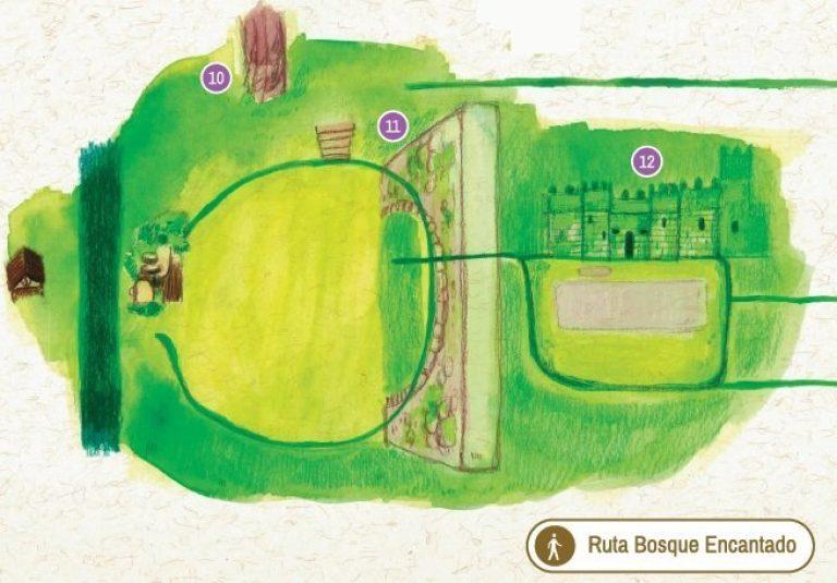 Mapa Bosque Encantado Aldan