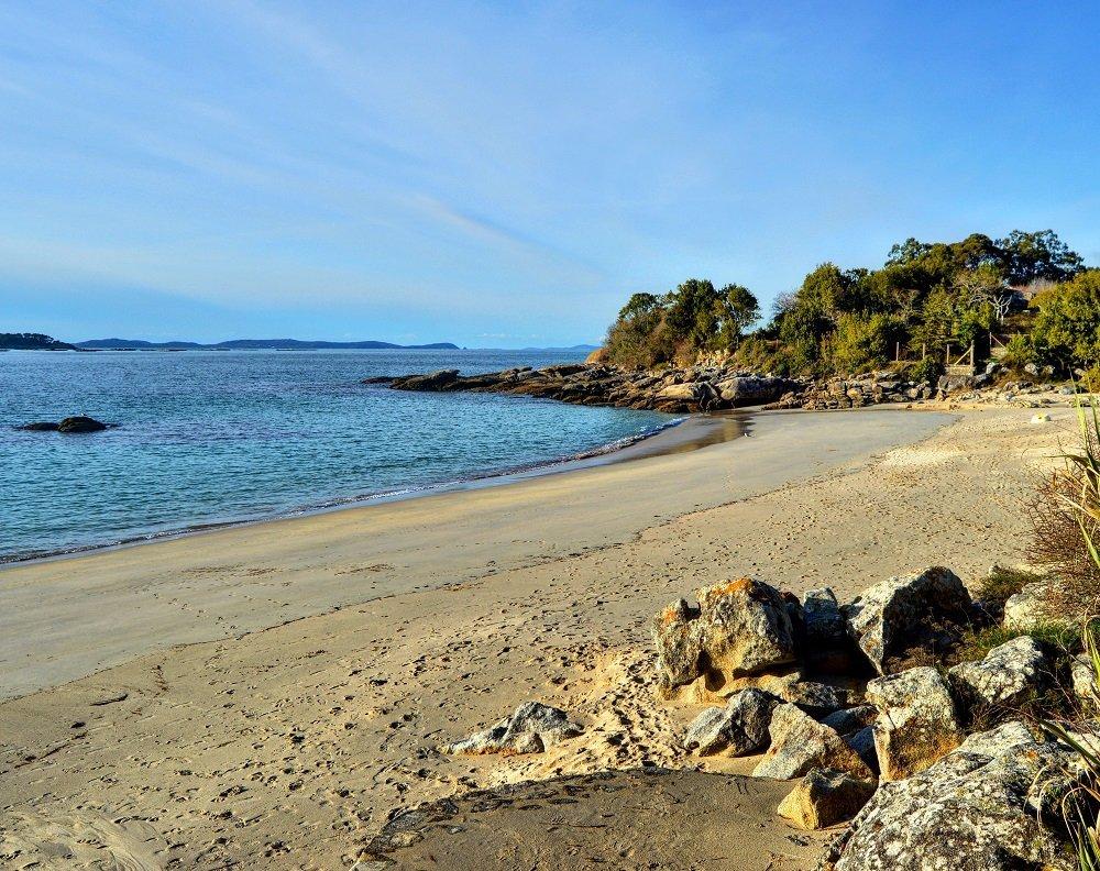 Las mejores playas en la Ría de Aldán