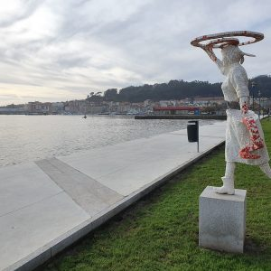 Escultura Cangas