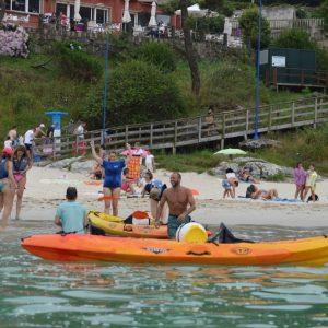 Alquiler de kayak en aldan
