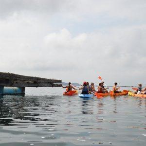 Bateas en Kayak