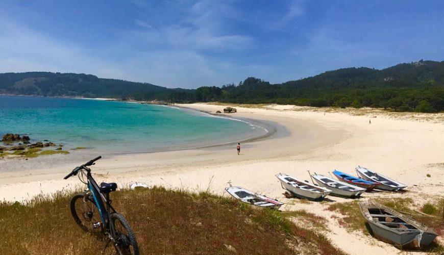 Playa de Nerga, Viño y playa de Barra